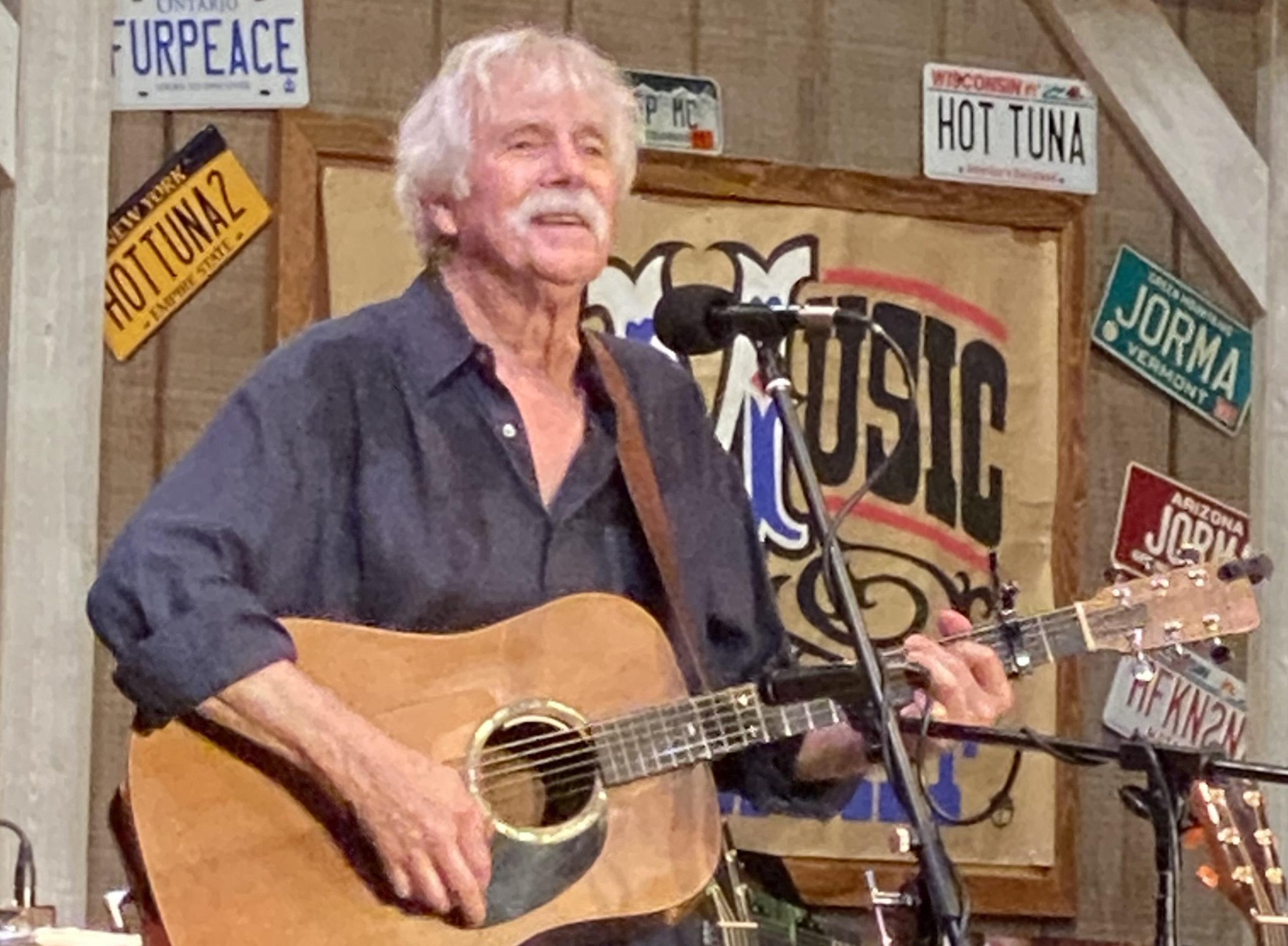 Tom Rush at Jorma Kaukonen's Fur Peace Ranch