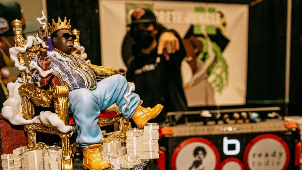 Exclusive: Comic-Con Unveils Limited Edition Notorious B.I.G. Statue & Redman Merch
